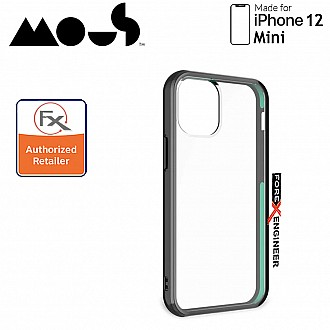 """Mous Clarity for iPhone 12 Mini 5G 5.4"""" - Clear (Barcode : 5060624483639 )_[RACK CLEARANCE]"""
