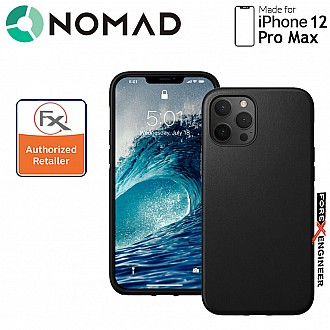 """Nomad Rugged Case for iPhone 12 Pro Max  6.7"""" (Black ) ( Barcode : 856500019215 )"""