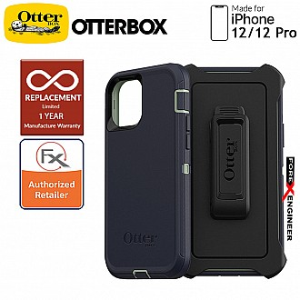 """Otterbox Defender for iPhone 12 / 12 Pro 5G 6.1"""" - Varsity Blues (Barcode : 840104215692 )"""