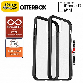 """Otterbox React for iPhone 12 Mini 5G 5.4"""" - Black Crystal (Barcode : 840104223925 )"""