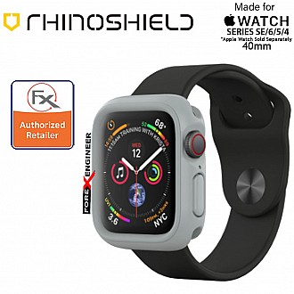 Rhinoshield CrashGuard NX- Apple Watch 40mm (Series 4/5/6/SE) | Platinum Grey  ( Barcode : 4710227238792 ) (ETA:05 Feb 2021)