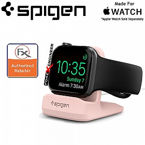 Spigen Night Stand S350 for Apple Watch - Pink Sand (Barcode : 8809522191874 )