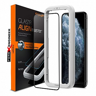 "Spigen Screen Protector for iPhone 12 Pro Max 6.7"" - AlignMaster Full Coverage ( Barcode : 8809710757042 )"