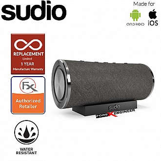 Sudio FEMTIO Bluetooth Speaker with IPX 6 Level ( Waterproof ) ( Black ) ( Barcode : 7350071385760 )