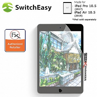 """Switcheasy Paperlike for iPad Air 10.5"""" (2019) / Pro 10.5"""" (2017) - Screen Protector Clear Color ( Barcode : 4897094562493 )"""