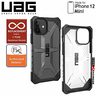 "UAG Plasma for iPhone 12 Mini 5G 5.4"" - Ice ( Barcode : 812451036015 )"
