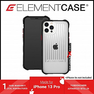 """Element Case Special Ops for iPhone 13 / 13 Pro 6.1"""" 5G - Clear / Black (Barcode: 810046111949 )"""