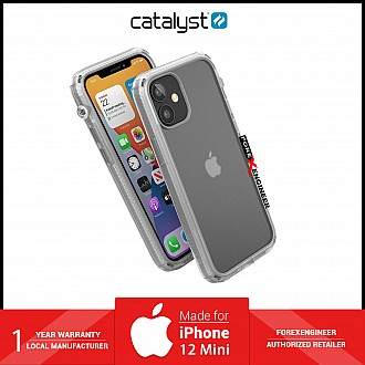 """Catalyst Influence for iPhone 12 Mini 5G 5.4"""" - Clear (Barcode: 840625106745 )"""