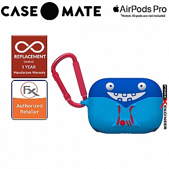 Case Mate Creature Pods for Airpods Pro - Tricky Trickster Case with Red Carabiner Clip ( Barcode : 846127191791 )