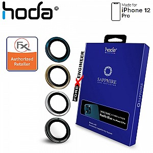 Hoda Sapphire Lens Protector for iPhone 12 Pro - 3 pcs - Graphite (Barcode : 4713381519684 )