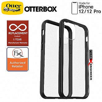 """Otterbox React for iPhone 12 / 12 Pro 5G 6.1"""" - Black Crystal (Barcode : 840104224472 )"""