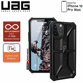 "UAG Monarch for iPhone 12 Pro Max 5G 6.7"" - Rugged Military Drop Tested ( Black ) - ( Barcode : 812451036145 )"