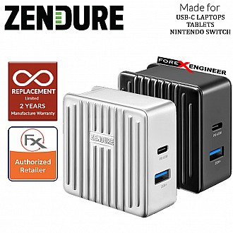 Zendure SuperPort 2 ( 57W ) Wall Charger with 45W PD & US , UK , EU Plug ( Silver ) ( Barcode : 857348008409 )