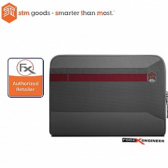 STM Summary Laptop Sleeves 15 inch - Granite Grey (Barcode : 640947795241 )