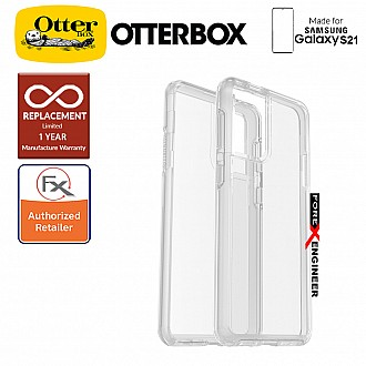 OtterBox Symmetry Clear for Samsung Galaxy S21 5G - Clear (Barcode : 840104245132)