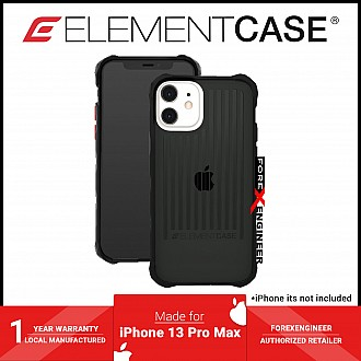 """Element Case Special Ops for iPhone 13 Pro Max 6.7"""" 5G - Smoke / Black (Barcode: 810046111956 )"""