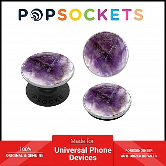 PopSockets Swappable Luxe - Genuine Amethyst (Barcode: 842978158655 )