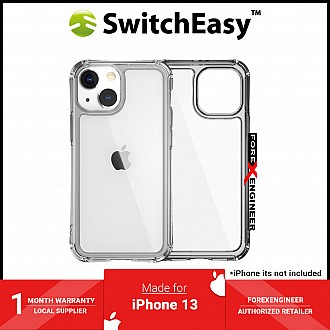 """SwitchEasy Alos for iPhone 13 6.1"""" 5G - Anti-Microbial Shockproof - Clear (Barcode: 4895241101533 )"""