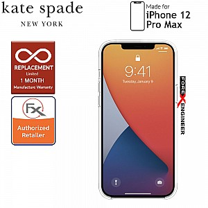 """Kate Spade Protective Hardshell for iPhone 12 Pro Max 5G 6.7""""- Scattered Flowers ( Barcode: 191058122681 )"""