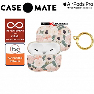 Case Mate Rifle Paper for Airpods Pro - Wildflowers with Gold Circular Ring ( Barcode : 846127194044 )