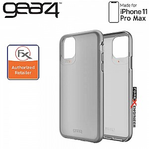 GEAR4 Hampton for iPhone 11 Pro Max - D3O Material Technology - Drop Resistant Up to 4 meters ( Dark Grey ) ( Barcode : 840056101333 )