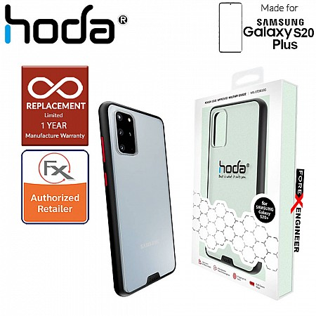 Hoda Rough Military Case for Samsung Galaxy S20+ / S20 Plus - Military Drop Protection ( Black ) ( Barcode: 4713381516164 )