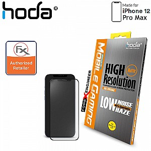 """Hoda Tempered Glass for iPhone 12 Pro Max (6.7"""") - 2.5D 0.33mm Full Coverage Screen Protector - Matte (Barcode : 4713381518434 )"""