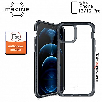 """ITSkins Supreme Clear for iPhone 12 / 12 Pro 5G 6.1"""" - Smoke/Clear (Barcode: 4894465045104 )"""