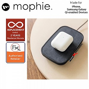 Mophie Wireless Charging Stand ( Fabric ) 10W sleek and adjustable ( Barcode : 840056104860 )