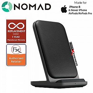 Nomad Base Station Stand Edition - 10W wireless charging - Black ( Barcode: 856500018294 )