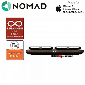 Nomad Base Station Hub with USB-C PD 18W port and Charges up to 4 devices simultaneously - Walnut Edition ( Barcode: 856504015312 )