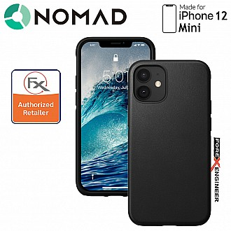 """Nomad Rugged Case for iPhone 12 MINI 5.4"""" ( Black ) ( Barcode : 856500019185)"""