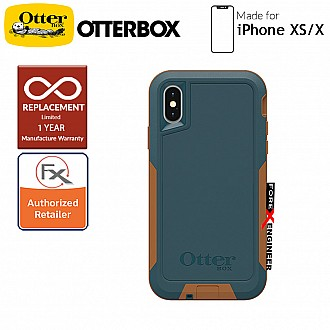 OtterBox Pursuit for iPhone Xs / X - Ultra thin ShockProof & DustProof Protection ( Autumn Lake ) ( Barcode: 660543470007 )