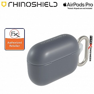 Rhinoshield AirPods Pro Case - MIL-STD 810G with Carabiner ( Charcoal Gray ) ( Barcode : 4710562417753 )