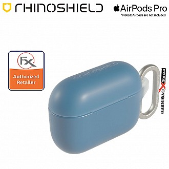 Rhinoshield AirPods Pro Case - MIL-STD 810G with Carabiner ( Royal Blue ) ( Barcode : 4710562417777 )