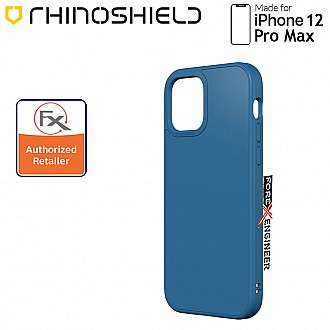 """Rhinoshield Solidsuit for iPhone 12 Pro Max 5G 6.7"""" - Classic Royal Blue ( Barcode : 4711033721287 )"""