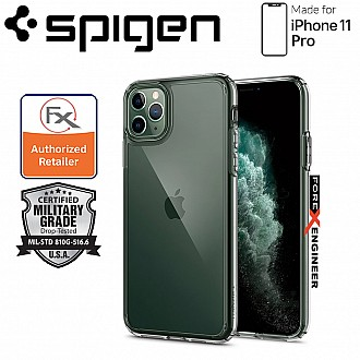 Spigen Ultra Hybrid for iPhone 11 Pro ( Crystal Clear ) ( Barcode: 8809685622826 )