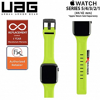 UAG Scout Strap for Apple Watch 44mm / 42mm Compatible for Series SE / 6 / 5 / 4 / 3 / 2 / 1 - Stainless steel hardware ( Billie ) ( Barcode : 812451035902 )