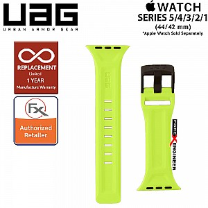 UAG Scout Strap for Apple Watch 44mm / 42mm Compatible for Series 5 / 4 / 3 / 2 / 1 - Stainless steel hardware ( Billie ) ( Barcode : 812451035902 )