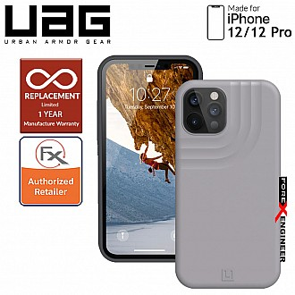 """uaUAG Anchor for iPhone 12 / 12 Pro 5G 6.1""""  - Light Grey (Barcode : 812451037128 )"""