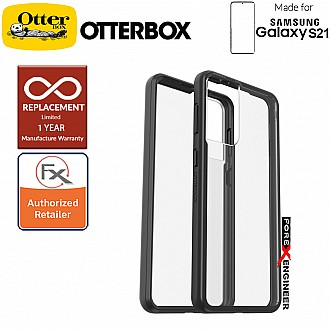 OtterBox React  for  Samsung Galaxy S21 5G -  Black Crystal (Barcode : 840104242940 )