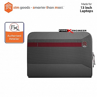 STM Summary Laptop Sleeves 13 inch - Granite Grey (Barcode : 640947795203)