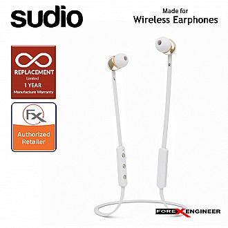 Sudio VASA BLÄ Bluetooth Earphones - White (Barcode : 7350071380512)