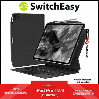 Switcheasy Coverbuddy for iPad Pro 12.9 3rd Gen / 4th Gen ( 2018 -2020 ) Case - Black (Barcode: 4897094566262 )