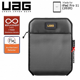 "UAG Shock Sleeve Lite for iPad Pro 11"" - Grey (Barcode : 812451037630)"