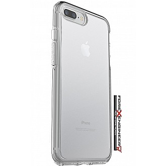 Otterbox Symmetry CLEAR Series Case for iPhone 7 plus - Drop proof, Shock Proof case - Crystal Clear (Compatibel with iPhone 8 Plus)