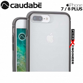 Caudabe The Synthesis for iPhone 7 / 8 Plus Premium Ultra Thin with Protection Case - Gray