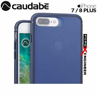 Caudabe The Synthesis for iPhone 7 / 8 Plus Premium Ultra Thin with Protection Case - Navy