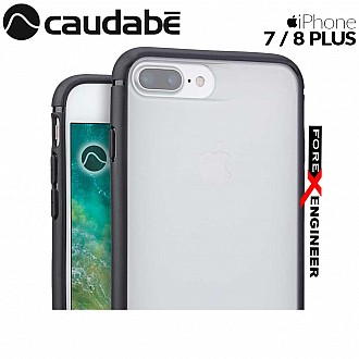 Caudabe The Synthesis for iPhone 7 / 8 Plus Premium Ultra Thin with Protection Case - Black