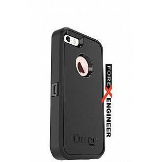 Otterbox Defender Series Case for iPhone 5 / 5S / SE - Drop proof, Shock Proof case - Full Black
